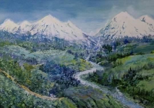 Выставка живописи художника-любителя Юрия Кунавина